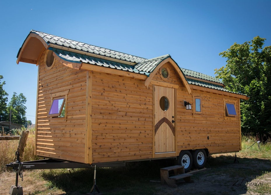 Whimsical tiny house has curves in all the right places - Tiny House HQ